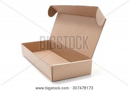 Cardboard Box Opened Empty