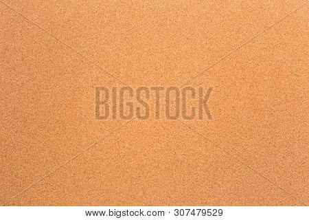 Blank Cork Texture Background Noticeboard  - Image