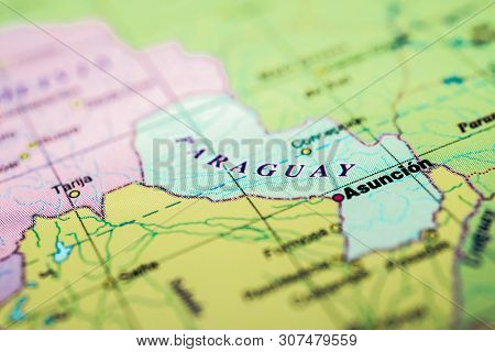 Paraguay On The Map, Detailed Atlases For Travelers