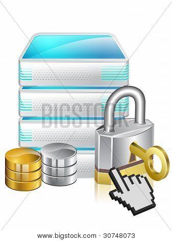 Server Locked