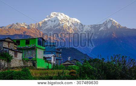 Teahouse On Annapurna Circuit Trek