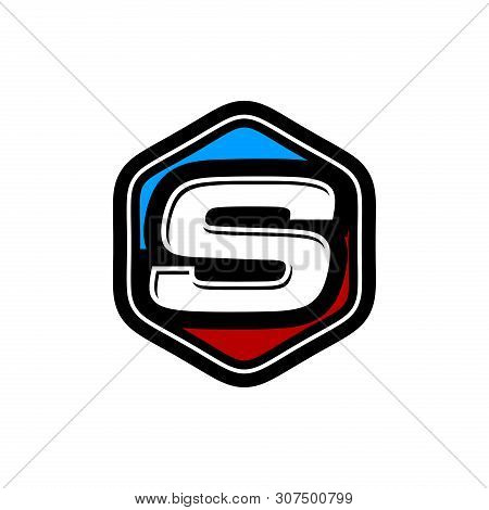 Letter S Logo Vector, Logo Initial S Design Graphic, Letter S Logo Icon Design Template Elements. Lo