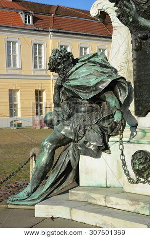 The Beautiful Berlin Schloss Of Charlottenburg, Germany