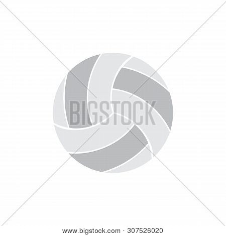 Volleyball Icon Isolated On White Background. Volleyball Icon In Trendy Design Style. Volleyball Vec
