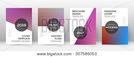 Flyer Layout. Modern Quaint Template For Brochure, Annual Report, Magazine, Poster, Corporate Presen