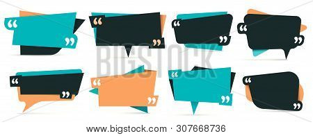 Quote In Quotes. Remark Frames, Frame For Idea And Quotation Template. Memo Quotation Frame, Quote T