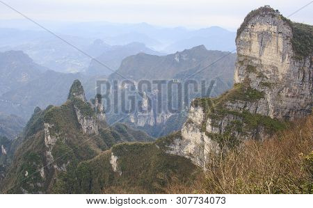 Zhangjiajie National Mountain Park, China. Avatar Mountains