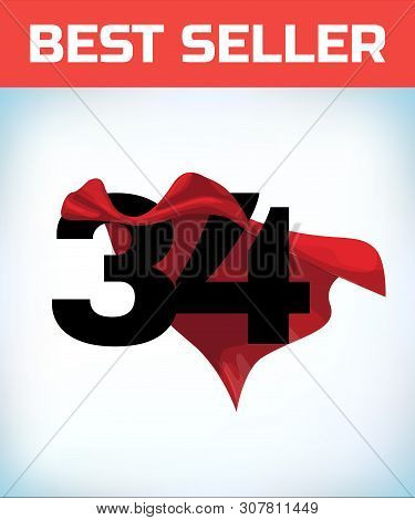 Thirty Four Red Hero Vector & Photo (Free Trial)   Bigstock
