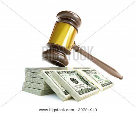 Corrupt Court Gavel