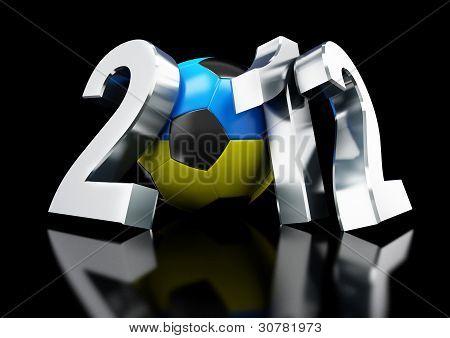 Europe On Football 2012 Ukraine And Poland