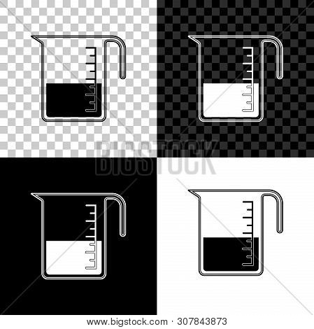 Measuring Cup To Measure Dry And Liquid Food Icon Isolated On Black, White And Transparent Backgroun