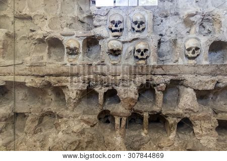 The Skull Tower (cele Kula)- Built From The 3000 Skulls Of Dead Serbian Warriors After Uprising In 1