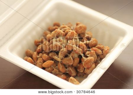 A Container Of Natto