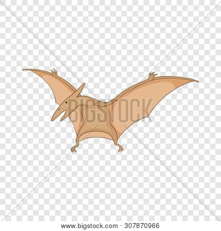 Pterosaurs Icon. Cartoon Illustration Of Pterosaurs Vector Icon For Web
