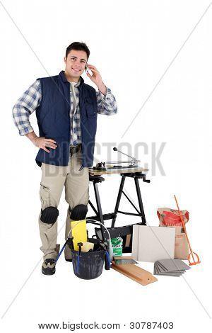 Portrait of a decorator