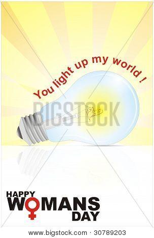 Woman's Day Bright Bulb