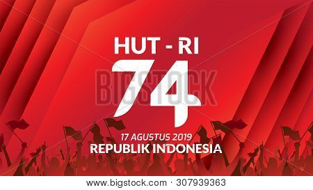 Unduh 4300 Background Banner Hut Ri Ke 74 HD Gratis