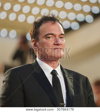 Quentin Tarantino attends the screening of
