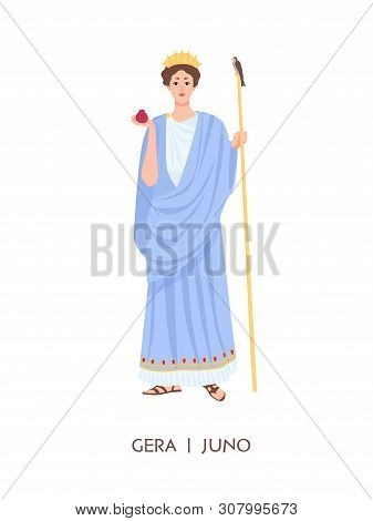 Hera Juno Goddess Vector Photo Free Trial Bigstock