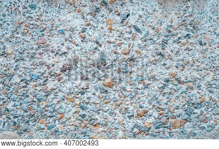 Texture Of A Stone Wall. Old Castle Stone Wall Texture Background. Stone Wall As A Background Or Tex