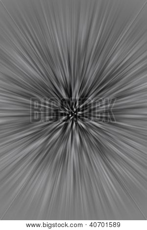Black and white blur background