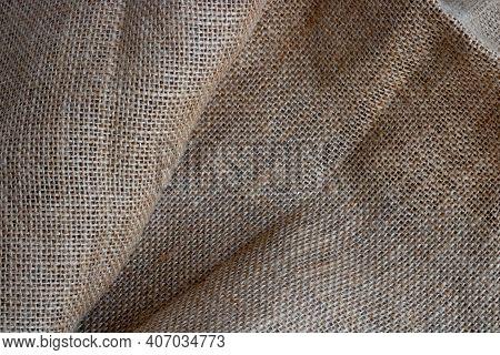 Burlap Pattern, Bag Fabric Background.natural Burlap Background.