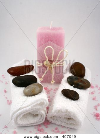 Pink Aromatherapy Candle