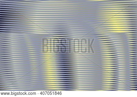Elegant Grey Striped Vector Background Saver With Curved Moire Surface In Trendy Colors Of The Year
