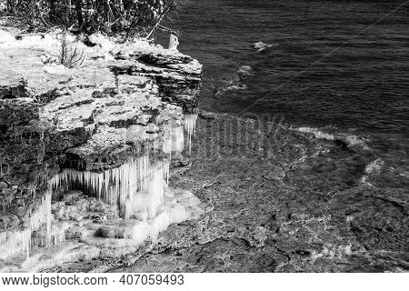 Icey Cave Point