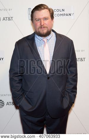 Michael Chernus attends 'The Dinner' premiere during the 2017 Tribeca Film Festival at BMCC Tribeca Performing Arts Center on April 24, 2017 in New York City.