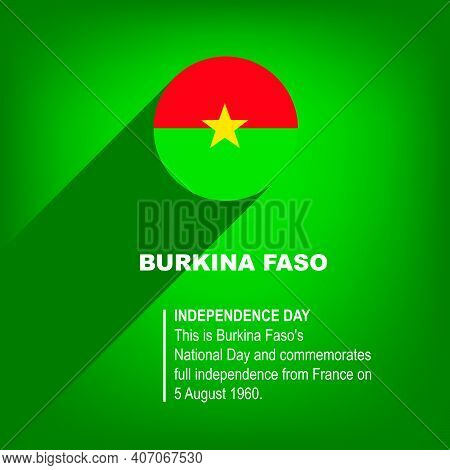 National Holiday In Burkina Faso - Independence Day