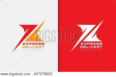 Abstract Initial Letter X Logo Design. The Letter X Made Of 2 Modern Shape. Usable For Business, Tec