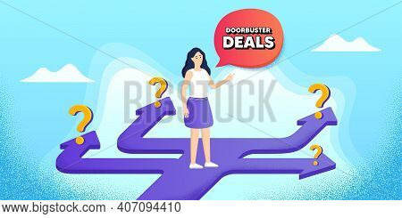 Doorbuster Deals. Future Path Choice. Search Career Strategy Path. Special Offer Price Sign. Adverti