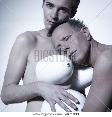 Gay Pregnant Couple