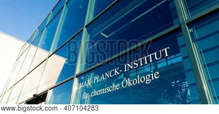 JENA, GERMANY - MAY, 08, 2011: Max Planck Institute for Chemical Ecology is located on Beutenberg Campus[1] in Jena, Germany.