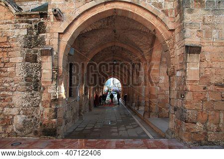 Larnaca, Cyprus - 06 Jan 2016: Church Of Saint Lazarus In Larnaca, Cyprus