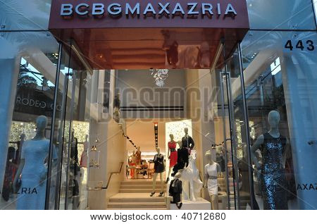 BCBGMAXAZRIA store at Rodeo Drive in Beverly Hills, California