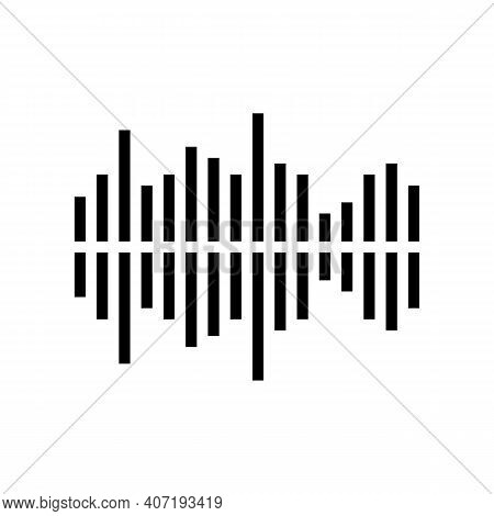 Frequency Noise Color Icon Vector. Frequency Noise Sign. Isolated Symbol Illustration