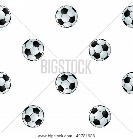 Seamless Football Background
