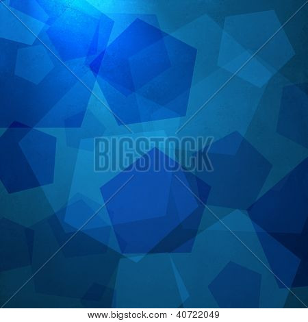 abstract blue background shape design