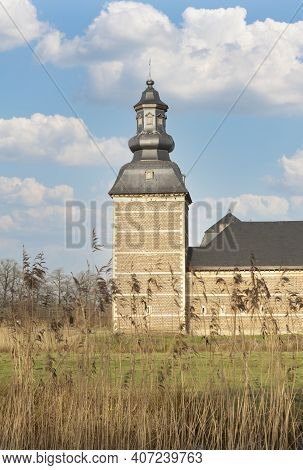 Belgium, Tree, Outdoor, Sky, Traditional, Stone, Landscape, View, Wall, Historical, Beautiful, Park,