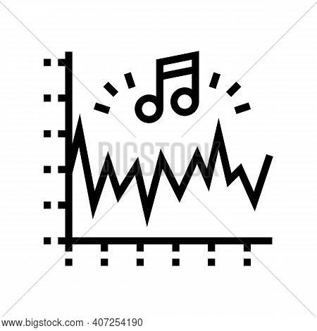 Noise Vibration Infographic Line Icon Vector. Noise Vibration Infographic Sign. Isolated Contour Sym