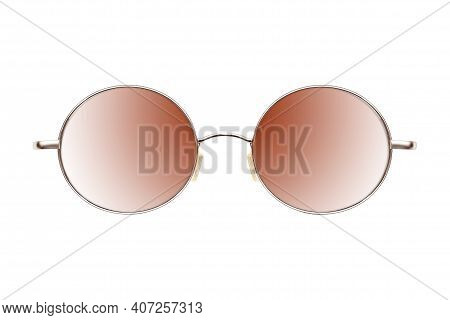 Sunglasses (specs) Isolated On White Background For Applying On A Portrait