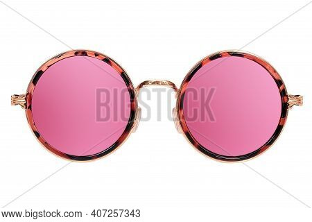 Sunglasses (specs) Isolated On White Background