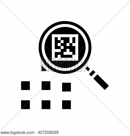 Research Neural Network Glyph Icon Vector. Research Neural Network Sign. Isolated Contour Symbol Bla