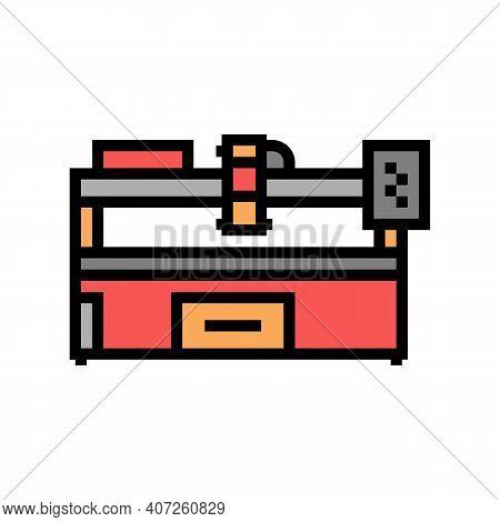 Plasma Apparatus Color Icon Vector. Plasma Apparatus Sign. Isolated Symbol Illustration