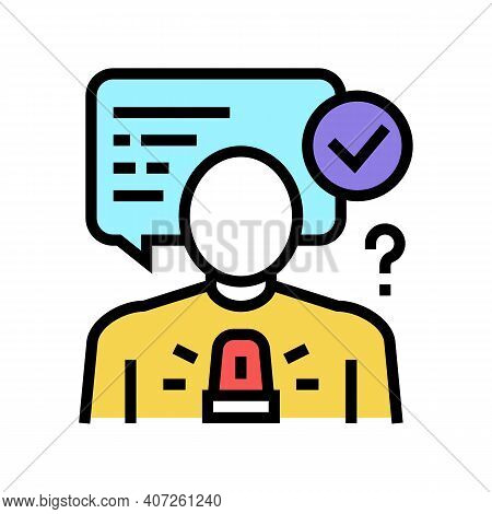 Decision Making Soft Skill Color Icon Vector. Decision Making Soft Skill Sign. Isolated Symbol Illus