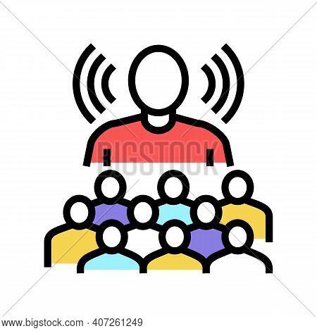 Leadership Soft Skill Color Icon Vector. Leadership Soft Skill Sign. Isolated Symbol Illustration