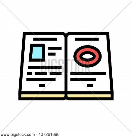 Help Allowance Color Icon Vector. Help Allowance Sign. Isolated Symbol Illustration