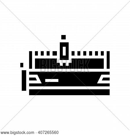 Water Apparatus Glyph Icon Vector. Water Apparatus Sign. Isolated Contour Symbol Black Illustration